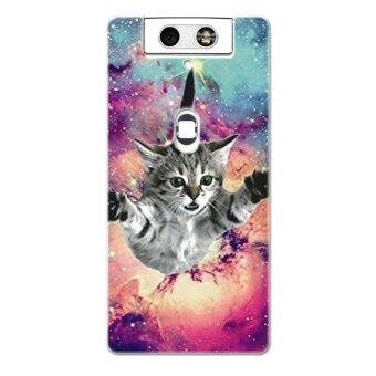 Harga PC Plastic flying cat Case for OPPO N3 (Multicolor)