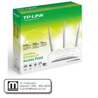 Harga TP-LINK 450Mbps ADVANCED WIRELESS N ACCESS POINT TL-WA901ND