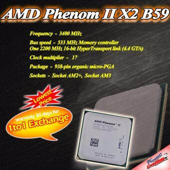 Harga AMD Phenom II X2 B59 3.4GHz AM2+ AM3 Socket (Refurbished)