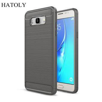 Harga For Samsung Galaxy J7 2016 Case Anti-knock Soft TPU Brushed Rugger Silicone Hybrid Phone Cases Cover For Samsung J7 2016 J710F