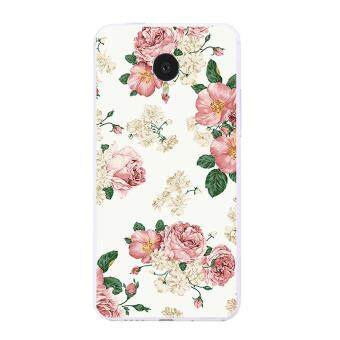 Harga Cases for Meizu MX4 Soft TPU Silicone Phone Protective Back Covers Shell Skin Blooming Summer Pattern