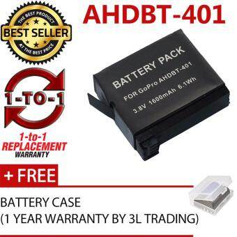 Harga (REPLACEMENT) AHDBT-401 Battery for Gopro Hero4 Black Edition Hero4 Silver Edition