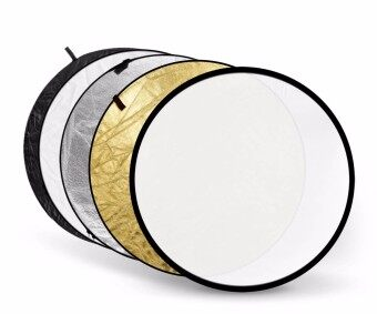 Harga (IMPORT) 5-in-1 Handheld Light Mulit Collapsible Disc Photograph Studio Reflector 110cm