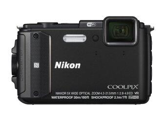 Harga Nikon Coolpix AW130 Waterproof Digital Camera colour: black (Nikon Malaysia Warranty) + 8GB + Case