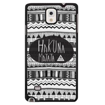 Harga Y&M Custom Style HAKUNA MATATA Phone Case for Samsung Galaxy Note 4(Multicolor)