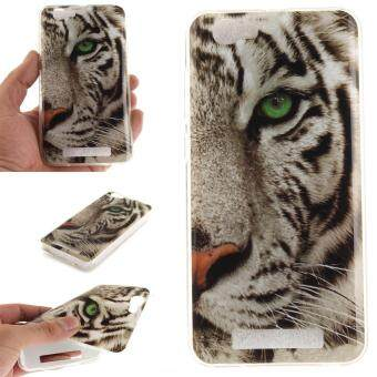 Harga Fashion Style Colorful Painted Colorful TPU Case Back Cover Protector Skin for ZTE Blade A610