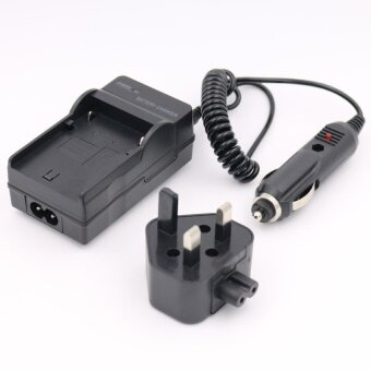 Harga DMW-BCG10E Battery Charger for PANASONIC Lumix DMC-TZ6 DMC-TZ7DMC-TZ10 DMC-TZ20 AC+DC Wall+Car