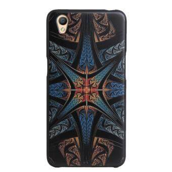 Harga Soft TPU 3D Embossed Painting Cover Case For OPPO A37(Magic star)