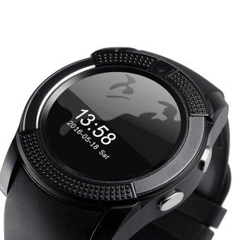 Harga V8 Smart Watch Wacht Clock With Sim TF Card Slot Bluetooth Connectivity for iPhone Android xiaomi Phone pk GT08 DZ09