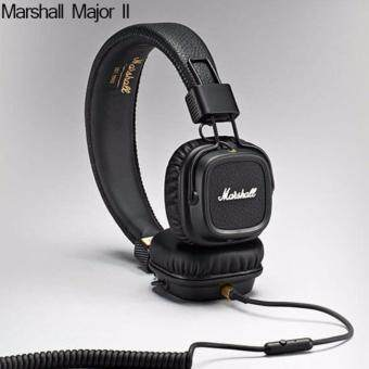 Harga Marshall Major II On-Ear Headphones with Mic Headset Stereo Headphones
