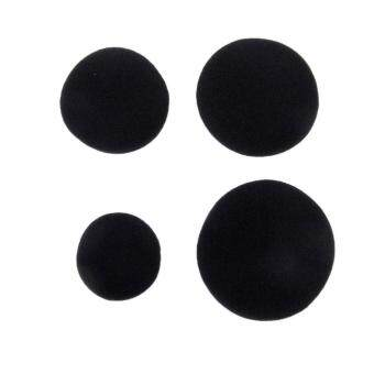 Harga MOON STORE Generic 5 Pairs Replacement Ear Earbud Pad Covers for Headset Earphones 40mm
