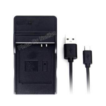 Harga DMW-BCM13 Ultra Slim USB Charger for Panasonic DMC-TZ55 DMC-TZ60 DMC-TZ61 Lumix DMC-FT5 DMC-TS5 DMC-TZ70 DMC-ZS40 DMC-ZS50 Camera and More