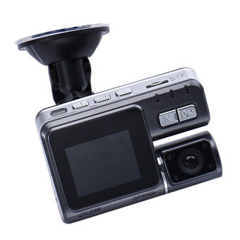 Harga GPS Car dvr Dual lens 2.7 LCD DVR camera recorder Video boardvehicle Cam