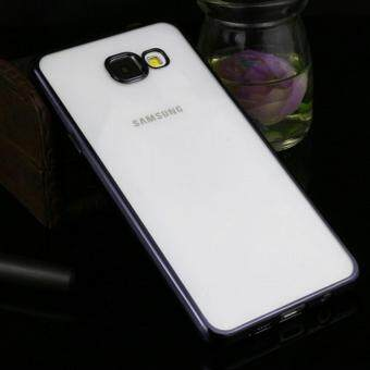 Harga TPU Chrome Bumper Case for Samsung Galaxy A9 Pro (Black)