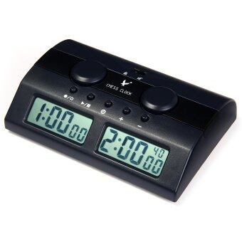 Harga LEAP PQ9902C Digital Chess Clock I-go Count Up Down Timer for Game Competition (Black)