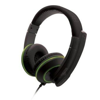 Harga Alcatroz Zeta MG570i Stereo Gaming Headset (Black Green)