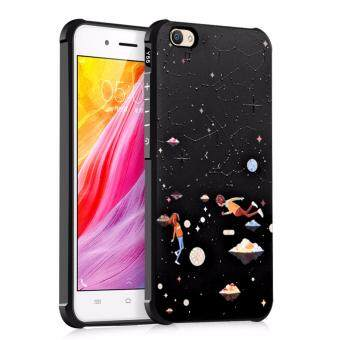 Harga For Vivo Y55 3D Painting Silicon TPU Anti-fall Airbag Cover Case(Star in love)
