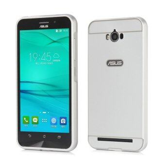 Harga Moonmini PC Back Cover Metal Bumper Frame Case for Asus ZenFone Max ZC550KL (White)