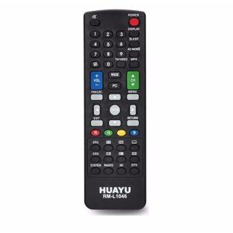 Harga SHARP TV/LED/LCD Remote Control Replacement (RM-L1046)