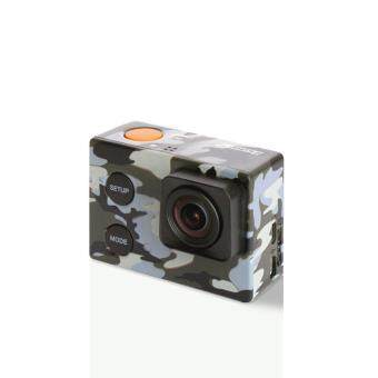 Harga GEON ISAW EDGE CAMO EDITION 4K Wi-Fi Action Camera (1 Year Local Supplier Warranty)