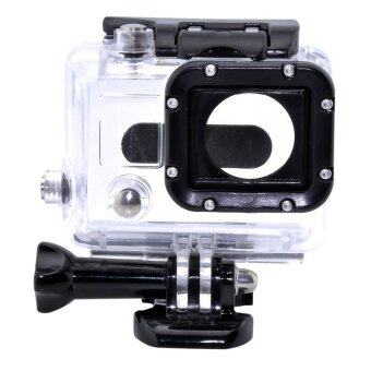 Harga MADPRO Underwater Waterproof Dive Housing Case Cover For GoPro HD Hero 4 3+ 3