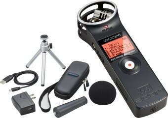 Harga Zoom H1 Handy Recorder Black + Accessory Pack Zoom H1 (APH1) - Combo 1: Black