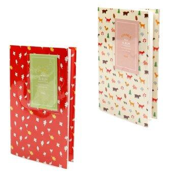 Harga KEEP/Fujifilm Instax Album 84 Photo Lovable Korean Style (Leaf Red) + (Forest)= 2 x Album (sku:51035
