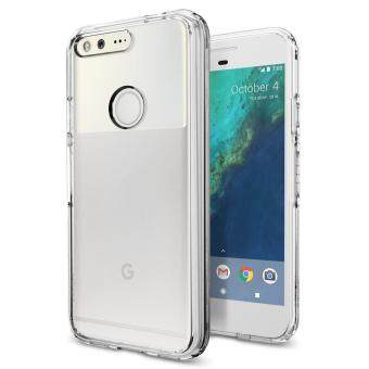 Harga Spigen PC and TPU Ultra Hybrid Crystal Clear Case for Google Pixel (Clear)