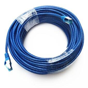 Harga 8M Ethernet Cable Blue CAT5 CAT5E RJ45 Network Ethernet Patch Cord Lan Cable RJ-45 Computer Accessories Blue