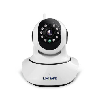 Harga LOOSAFE LS-F2 1080P 3.6mm Focal Length Night Vision Wireless WIFI Security CCTV IP camera