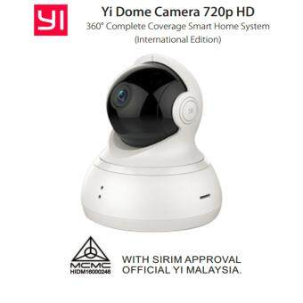 Harga YI HD 720p Dome Camera (Original International Version) (White)