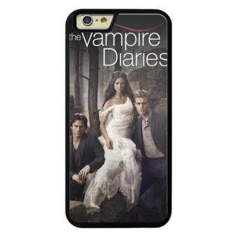 Harga Phone case for iPhone 5/5s/SE Vampire Diaries Elena Stefan Damon cover for Apple iPhone SE