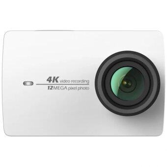 Harga [International Vision] Xiaomi Yi 2 4K 12MP Sport Action Camera ( Pearl White)