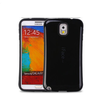 Harga iFace Heavy-Duty Shockproof Hard Case for Samsung Galaxy Note 3 (Black)