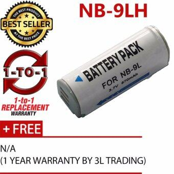 Harga (REPLACEMENT) NB-9L NB-9LH Battery for Canon IXUS1000 IXUS530 IXUS520 IXUS510 IXUS50S N2 N1