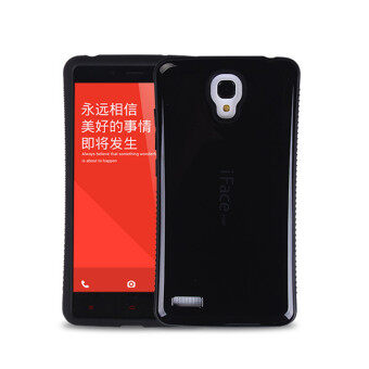 Harga iFace Heavy-Duty Shockproof Hard Case for XiaoMi RedMi Note 4G 5.5' inch (Black)