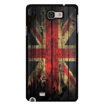 Harga Y&M Fahion art style Mi Flage Phone Case for Samsung Galaxy Note 1(Multicolor)