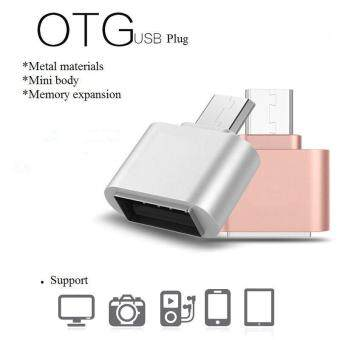 Harga OTG Hug 2.0 Converter OTG Adapter Micro USB to USB Hub for Mini Android Gadget Phone Samsung Cable Card Reader Flash Drive OTG