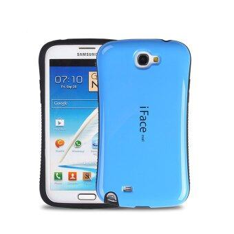 Harga iFace Heavy-Duty Shockproof Hard Case for Samsung Galaxy Note 2 (Dark Blue)