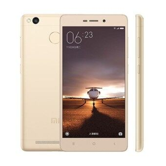 Harga (INTERNATIONAL SPEC SEAL BOX) XIAOMI REDMI 3S 2GB + 16GB (GOLD)