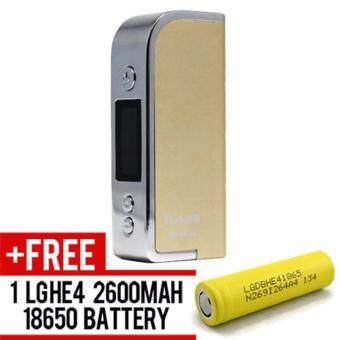 Harga Super Fast Marketing - Yosen Malphite (GOLD) Mod For Vape And Electronic Cigarettes + 1 LGHE4 YELLOW BATTERY