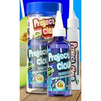 Harga Project Cloud - Honeydew - 100ml (0mg) 5 in 1 Max VG E-Liquid E-Juice Flavor Vape E-Cigarette