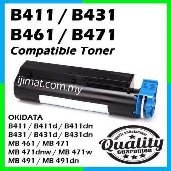 Harga OKI B411 / B411d / B411dn / B431 / B431d / B431dn / MB 461 / MB 471 / MB 471dnw / MB 471w / MB 491 / MB 491dn Compatible High Quality Compatible Toner