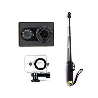 Harga (International) XiaoMi XiaoYi Yi Sports Action Camera Full HD Video Recorder Camera Travel Pack1