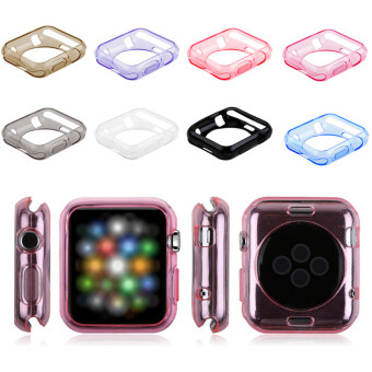 Harga 8Pcs TPU Watch Case for Apple Watch iWatch Sport Edition 38mm (Multicolor)