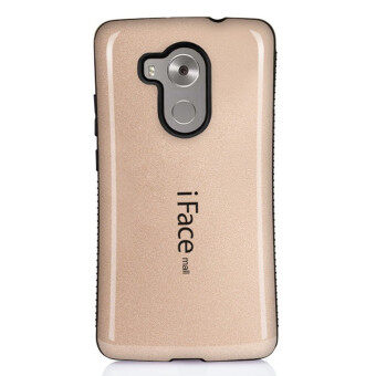 Harga iFace Heavy-Duty Shockproof Hard TPU Case for Huawei Mate 8 (Gold)