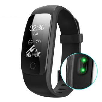 Harga ID107 Plus GPS Smart Bracelet Heart Rate Monitor Pedometer Band Bluetooth Fitness Activity Sports Tracker Wristband for phone