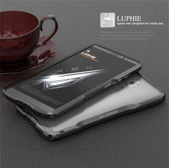 Harga Luphie Aluminum Bumper Metal Blade Case Cover for HUAWEI Mate 8 in Black