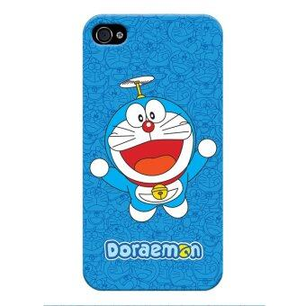 Harga Skinmeleon Flying Doraemon Phone Case for iPhone 4 / 4S (Blue)
