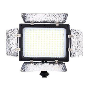 Harga Andoer W180 LED Video Light Lamp Panel for Canon Nikon Pentax DSLR Camera